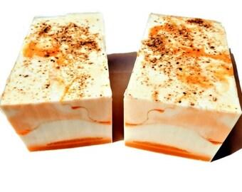 3.5 lb Soap Loaf -SOAP -  Orange Neroli Soap Loaf, Handmade Soap Loaf, Vegan Soap, Wholesale Soap Loaf, FREE SHIPPING