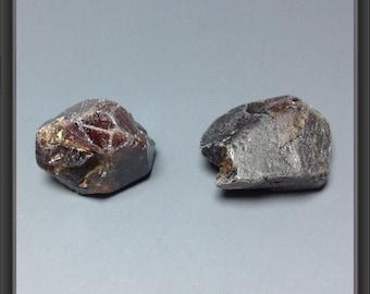 Zircon from Tanzania - 2pc - 6.8g