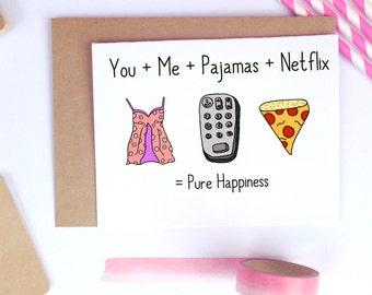 Funny Valentine Card, Cute Valentine Card, Cute Husband Card, Card for Husband, Boyfriend Cards