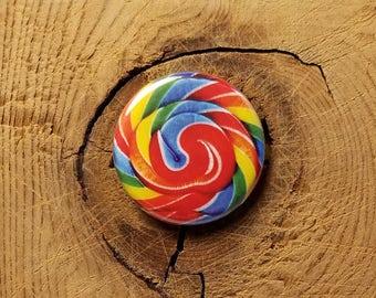 "Lollipop  (1-1/4"" Pinback Button or Magnet)"