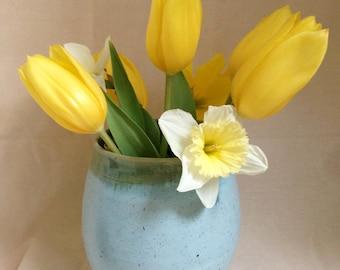 Handmade Ceramic Spring Vase