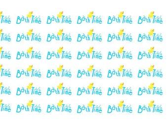 Bathtime Wordy Icons WI0045