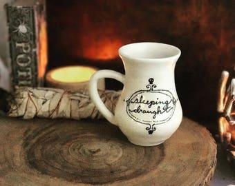Mug coffee or tea halloween potions collection