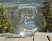 Funny Wine Glass Liquid T...