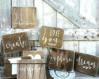 Cottage Home Decor | Rustic Decor | Wood Sign | Country Home | Wall Hanging  |