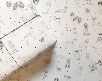All The Dogs Gift Wrap