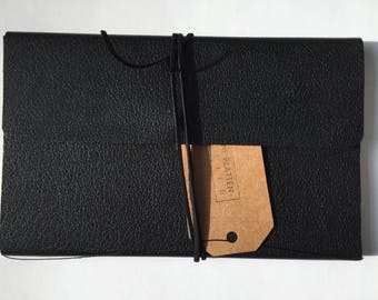 "Full-leather cover for Moleskine Journal, ""Large"" size"