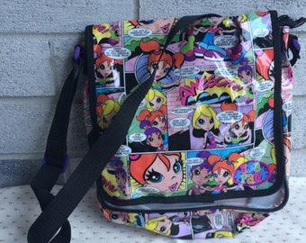 Lisa Frank handbag, Lisa Frank Purse, Lisa Frank girls  bag, Lisa Frank long strap bag