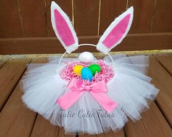 Bunny Easter Basket Tutu