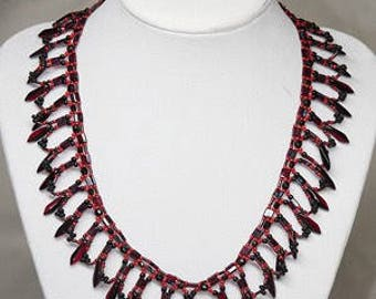 Dragon scale necklace