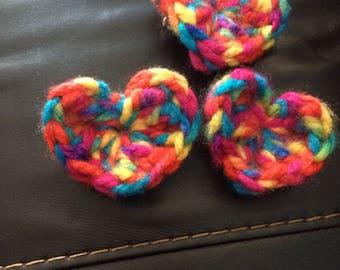 Rainbow LGBT Pride Heart Pin