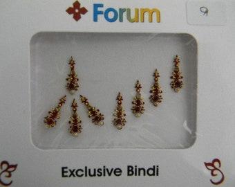 Crystal Diamante Bindi Stick On Bollywood Indian Body Tattoo Art Gem Jewel - Forum #9