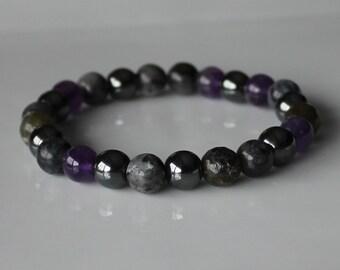 STRESS RELIEF BRACELET , Anxiety Bracelet , Stress Stones , Stress Crystals, Healing Bracelet