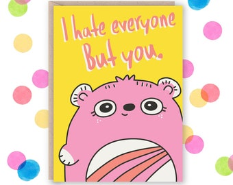 Funny Birthday Card, Card for Husband, Birthday Card for Wife, Card For Boyfriend, Card For Girlfriend, Funny Anniversary Card For Wife