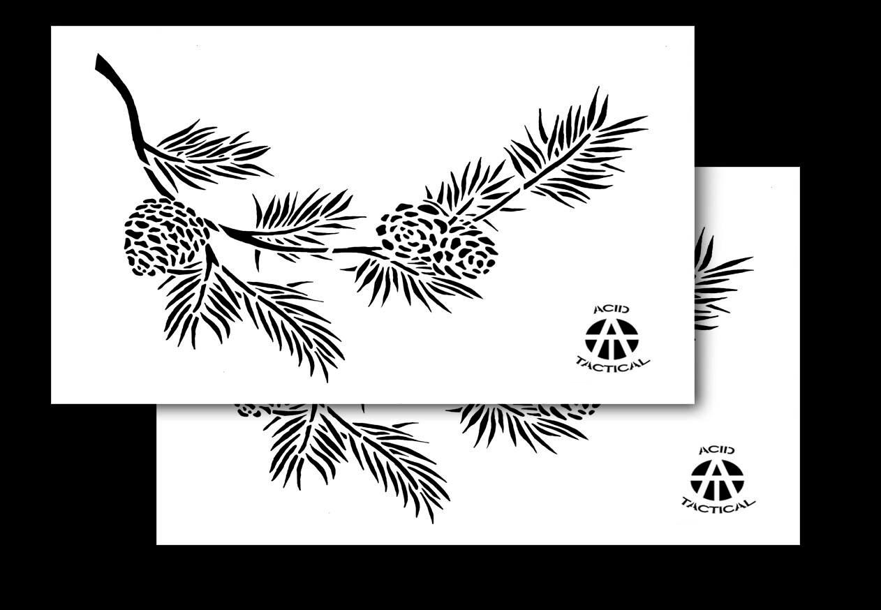 Ácido Tactical® 2 Pack 9 x 14 camuflaje Pintura Camo