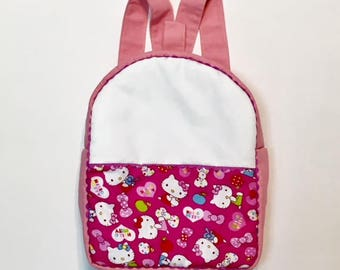 Backpack Canvas Hello Kitty