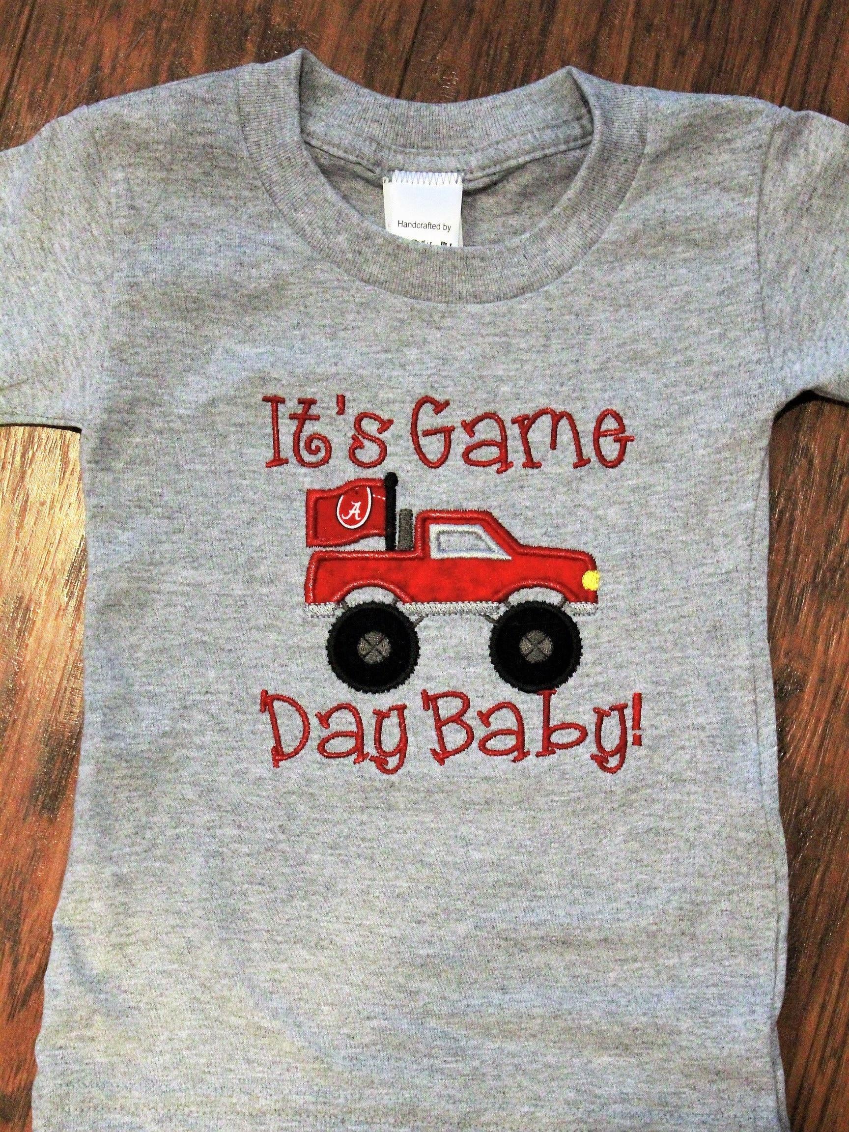 Baby boy baby boy clothes Alabama Crimson Tide bodysuit shirt