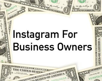 Instagram for Business Owners
