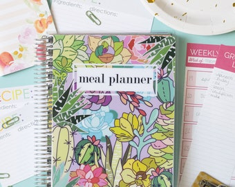 NEW! Meal Planner Mini - Succulents