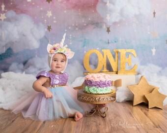 Unicorn Dress, Unicorn Tutu, Unicorn Dress for girls, Unicorn Birthday Outfit, Unicorn Costume, Unicorn 1st Birthday, Unicorn Party Dress,