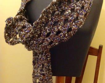 Crochet stole or scarf