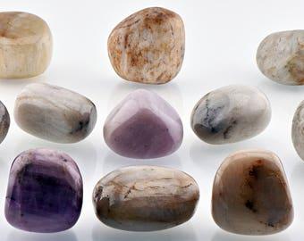 Kunzite Tumbled Gemstone - Medium - Stone for Joy, Love & Happiness