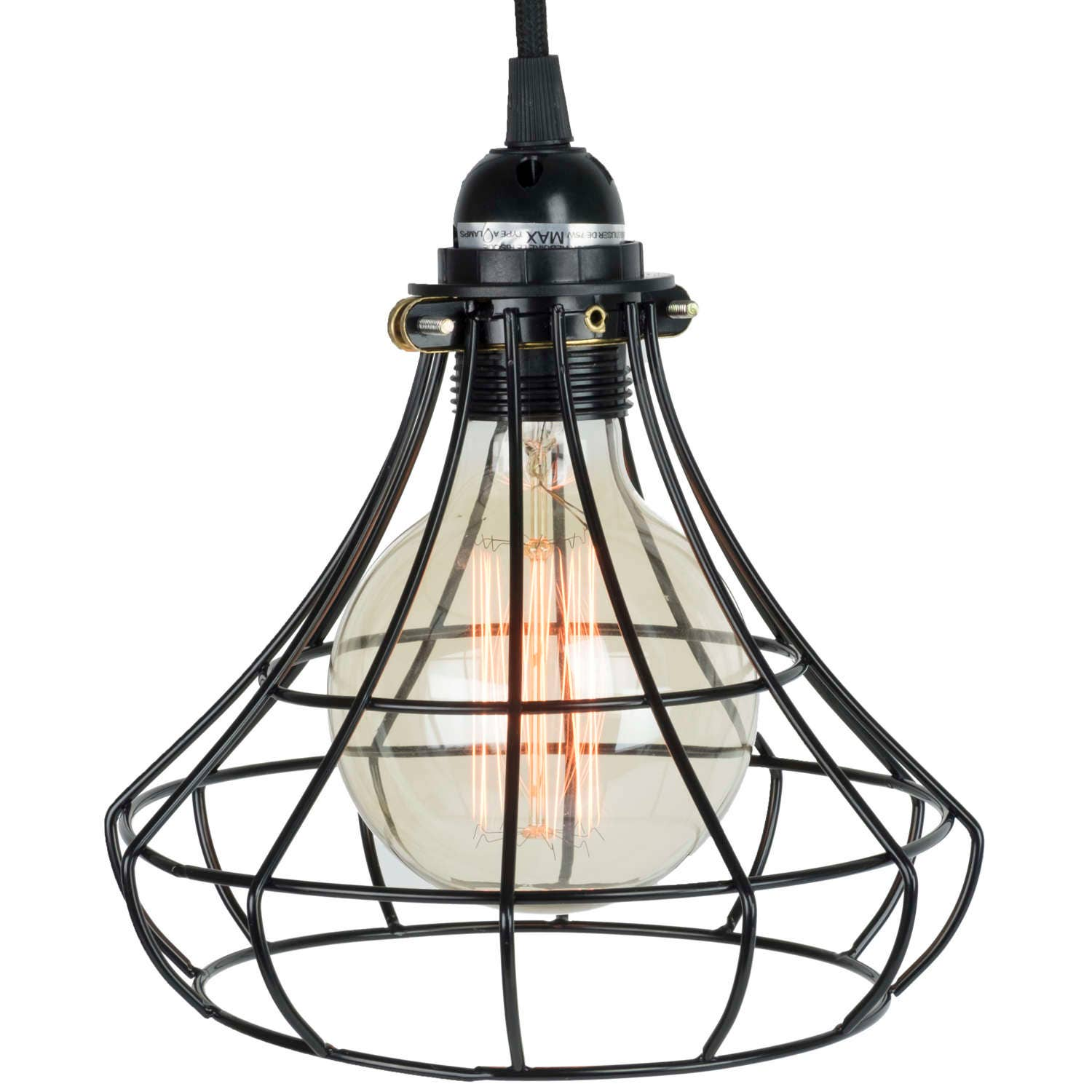 Pendant Lighting By Rustic State Authentic Vintage Lights: Pendant Lighting By Rustic State With Industrial Style Sphere
