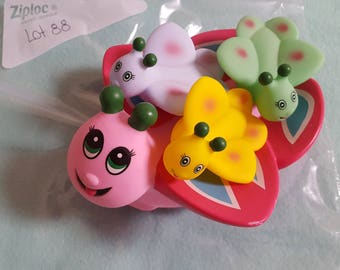 Butterfly Bath Tub Toy Perfect for Sugar Glider Toy Base or Just for Fun for Kids