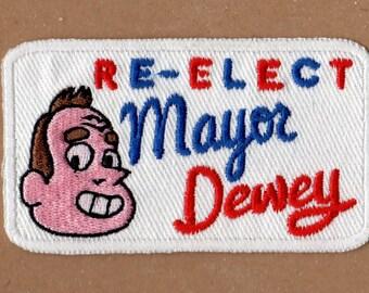 Re-Elect Mayor Dewey Patch - Steven Universe