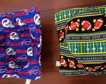 Game day Microwave large bowl cozie set of two / bowls  not included