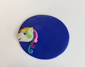 Pediatrician nurse badge little pony