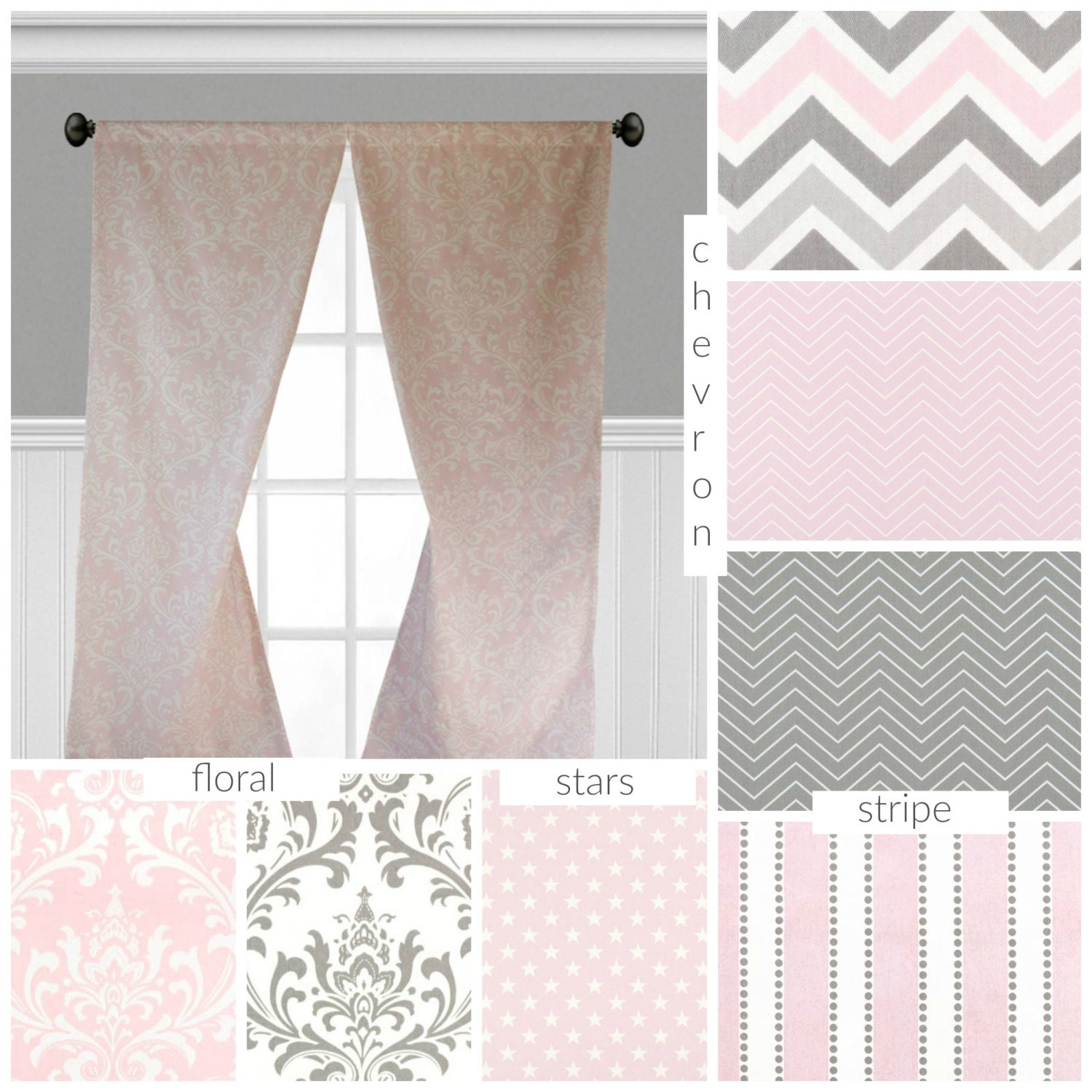 with drapes white and light polka cheap curtain rim pink c curtains lace dots curtainhomesale panels