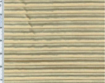 Velvet Camel Beige Pleated Home Decorating Fabric, Fabric By The Yard