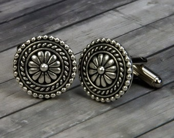 Bali Cufflinks - Bali Cuff Links - Bali Jewelry - Mens Accessories - Christmas - Gifts for Him - Mens Jewelry -  Mens gifts - Suit and Tie