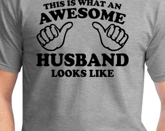 This Is What An Awesome Husband Looks Like Funny Valentine's Gift For Him