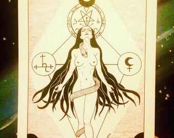Satanic Art Etsy