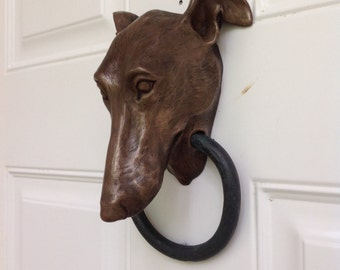 Greyhound Doorknocker