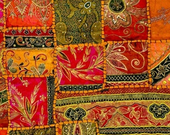 Laminated placemat pattern Indian fabric
