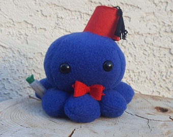 Doctor Who Octopus Plush - Matt Smith - Eleventh Doctor - Ready to Ship!