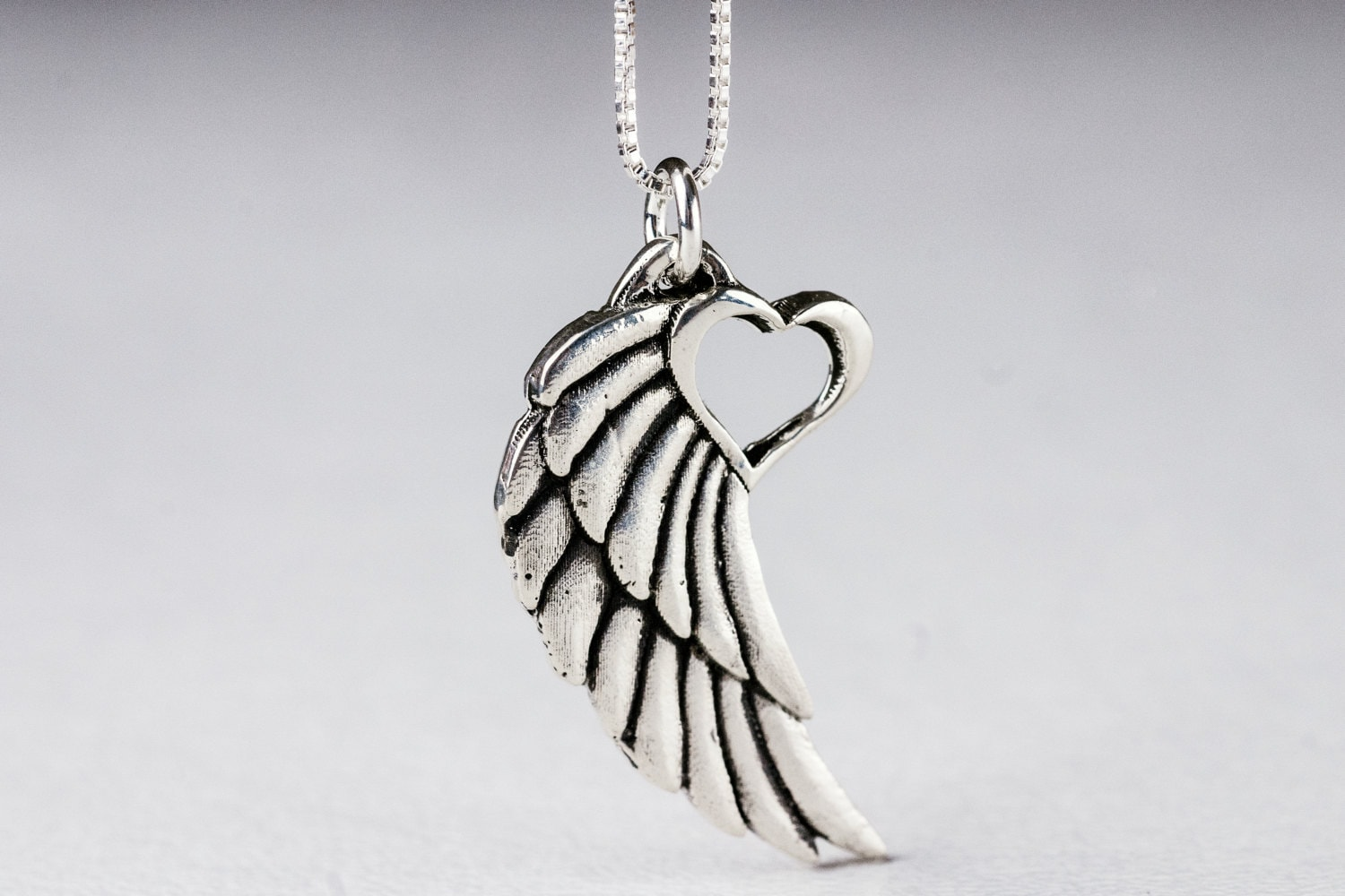sm jewellery feathers animal jewel silver angel sterling pendant wings mava jewelry bird products the symbol heavenly