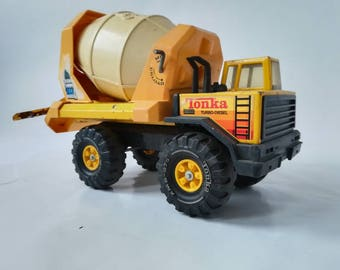 CEMENT truck redemix TONKA Vintage 80's