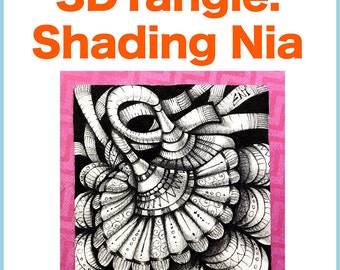 3D Tangle Shading Nia - Download PDF Tutorial