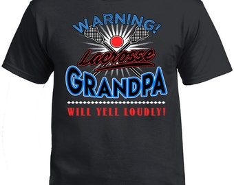 Father's Day, Father's Day Tshirt, Lacrosse Grandpa, Lacrosse Grandpa Voice Shirt, Grandpa's Gift, Gift For Grandpa. Father's Day Gift