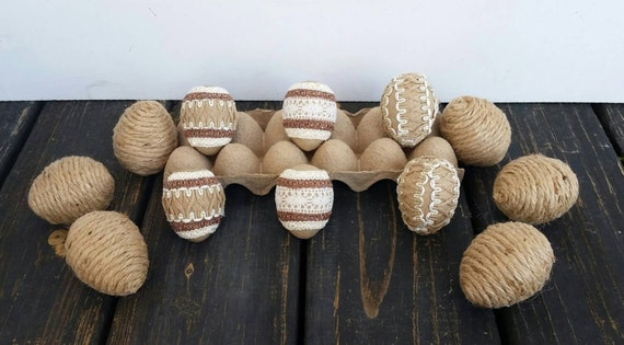 Decorative Easter Eggs, Rustic Eggs
