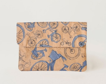 Blue Bicycles Mini Paper Sleeve