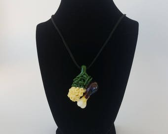 Comfort Food #6 Necklace by TMI Glass