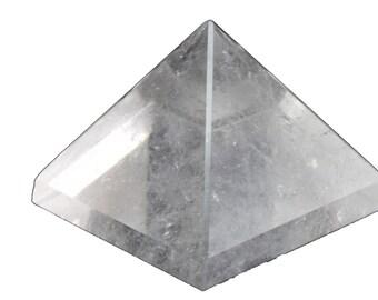 Clear Crystal Pyramid
