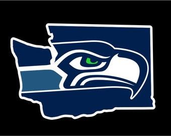 Seattle Seahawks Decal | Seahawk Sticker