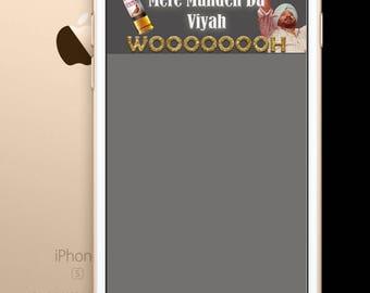 Punjabi wedding snapchat filter