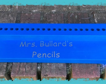 Teacher's Personalized Pencil/Sharpie Holder